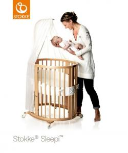 Stokke Sleepi Mini inkl. madrass - Natural